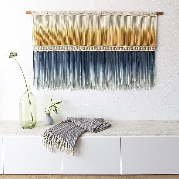 Amazon.com: Extra Large Fiber Wall Art: Rianne Zuijderduin: Fine Art