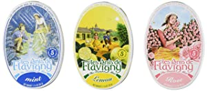 Anis De Flavigny - Mint, Lemon and Rose Flavored Candies From France 3 Pack 3x1.75oz