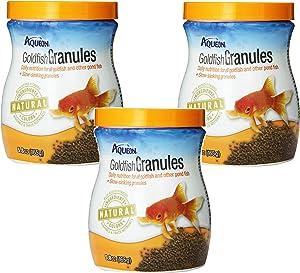 Aqueon (3 Pack) Goldfish Granules, 5.8-Ounce Each