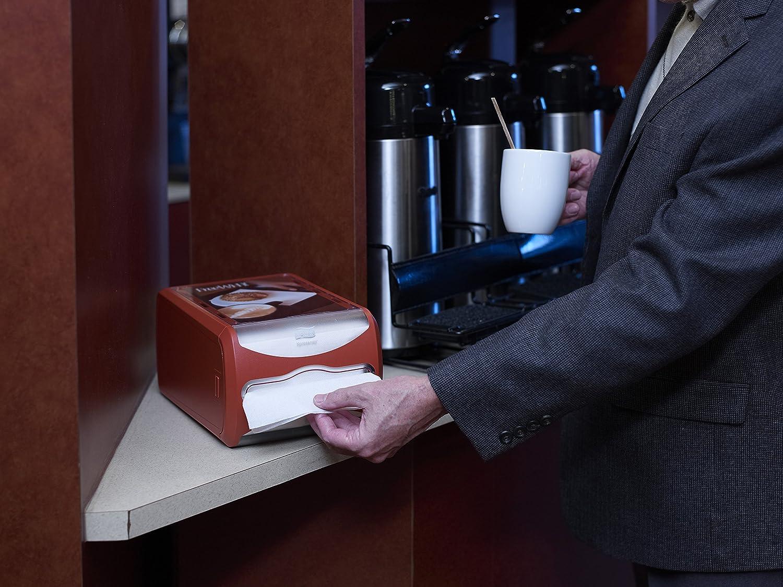 Tork Xpressnap 272513 Dispensador de servilletas para mostrador/Ideal para restaurantes/Compatible con el sistema N4 / Gris claro: Amazon.es: Industria, ...