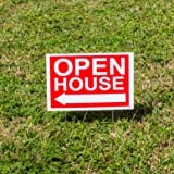 Premium Open House Signs For Real Estate | 4-Pack