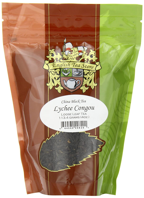 Amazon.com : English Tea Store Loose Leaf, Lychee Congou China Black