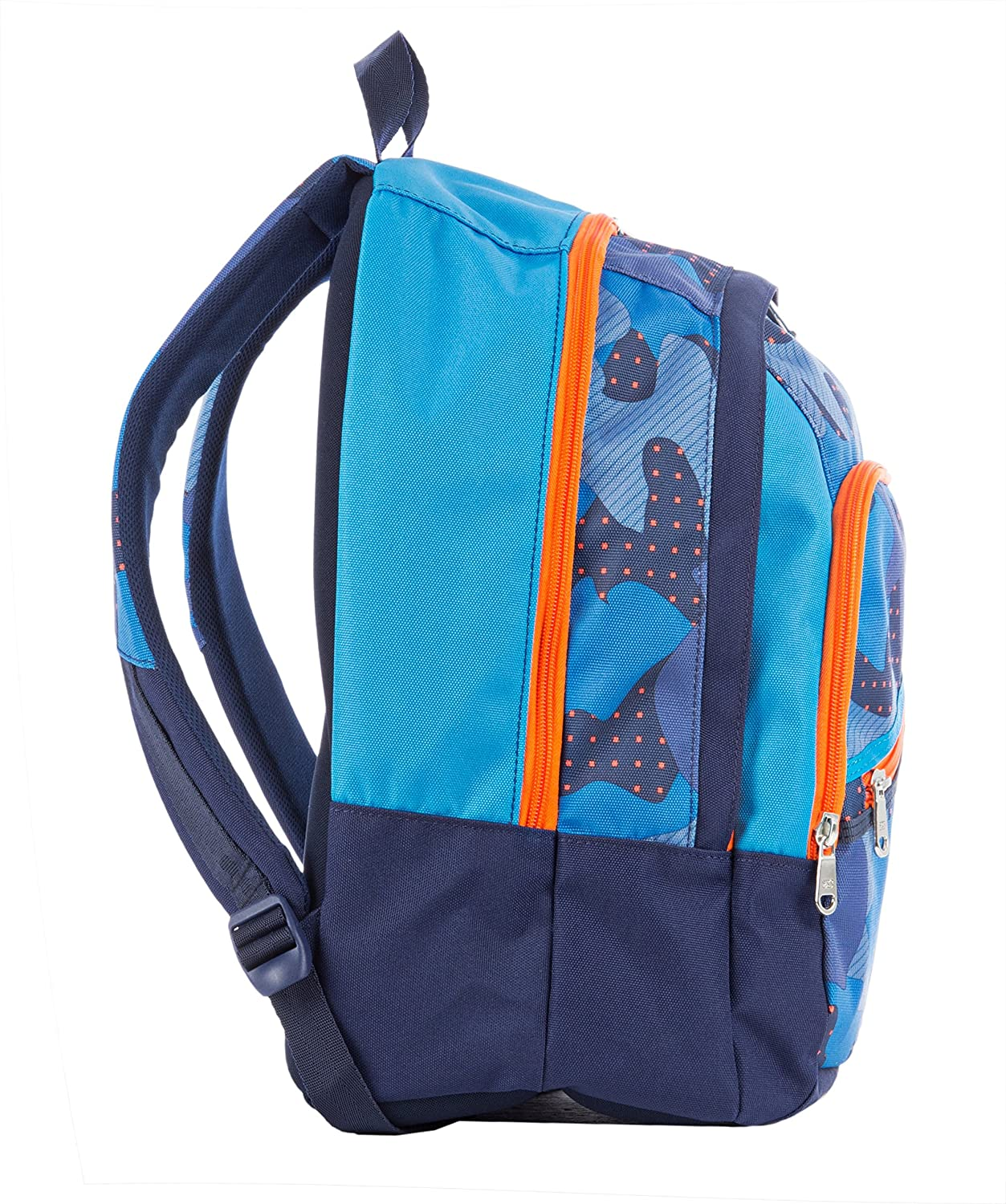 SEVEN FIT MIMETICAL Trolley Cart Camouflage Blue 28 LT School /& Leisure Backpack