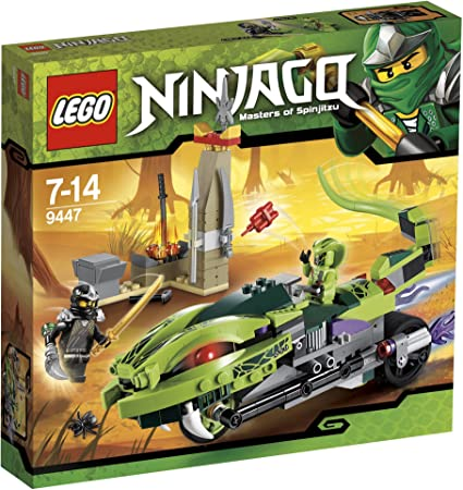 Amazon.com: LEGO Ninjago lashas Bite Ciclo: Toys & Games