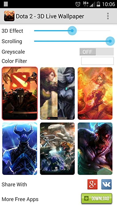 Amazon Com Dota 2 3d Live Wallpapers Appstore For Android
