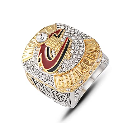 ca4a394e80e Image Unavailable. Image not available for. Color  GF-sports store NBA 2016  Cleveland-Cavaliers James Championship Ring ...