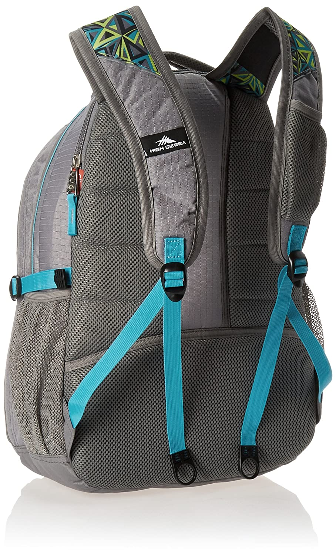 High Sierra Swerve Backpack Python//Vivid Blue//Black High Sierra Sport Company 53665-4974