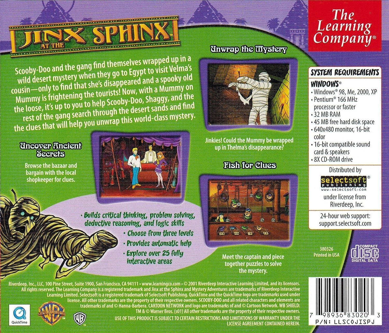 Amazon. Com: scooby-doo! Jinx at the sphinx: video games.