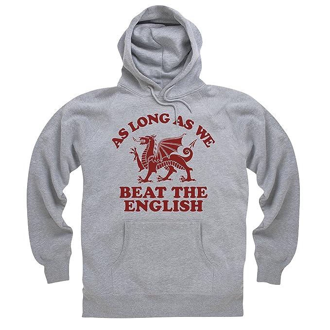 Wales Beats England Rugby Sudadera con capucha, Para hombre: Amazon.es: Ropa y accesorios