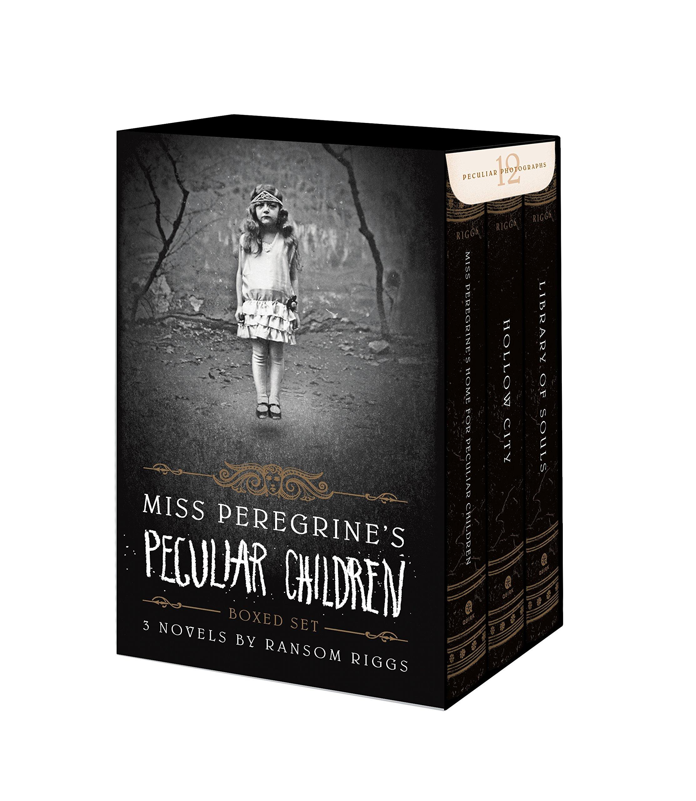Download Miss Peregrines Peculiar Children Boxed Set pdf epub