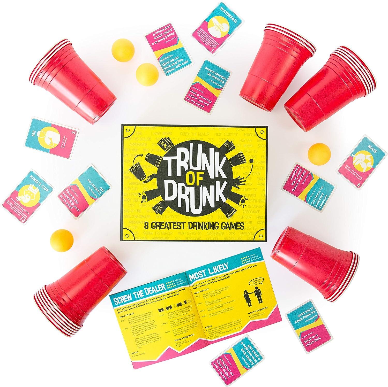 SMALL 15 x 15 cm DRINKING GAMES MINI FUN  SHOTS PARTY PREDRINK CHRISTMAS STUDENT