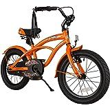 BIKESTAR Premium Sicherheits Kinderfahrrad 16 Zoll für Jungen ab 4-5 Jahre ★ 16er Kinderrad Cruiser ★ Fahrrad für Kinder