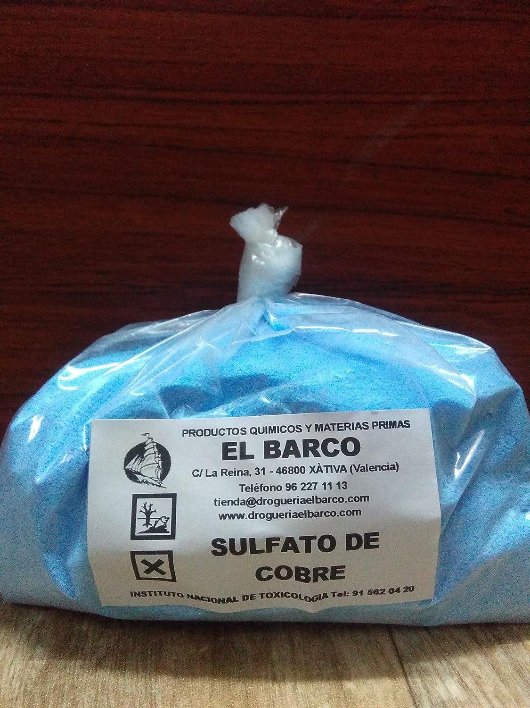 Sulfato de Cobre (II) 1Kg: Amazon.es: Industria, empresas y ...