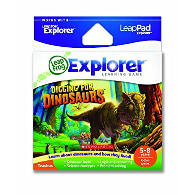 LeapFrog Explorer Learning Game: Digging for Dinosaurs (works with LeapPad & Leapster Explorer): Toys & Games