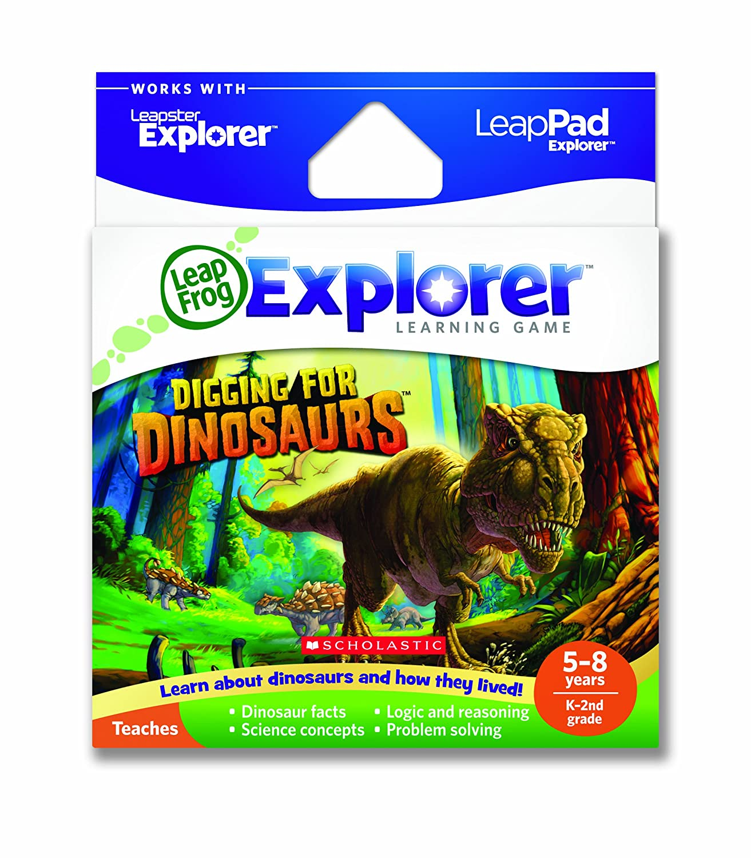 promocionales de incentivo LeapFrog LeapFrog LeapFrog Explorer Learning Game: Digging for Dinosaurs (works with LeapPad  Leapster Explorer) by LeapFrog Enterprises  punto de venta de la marca