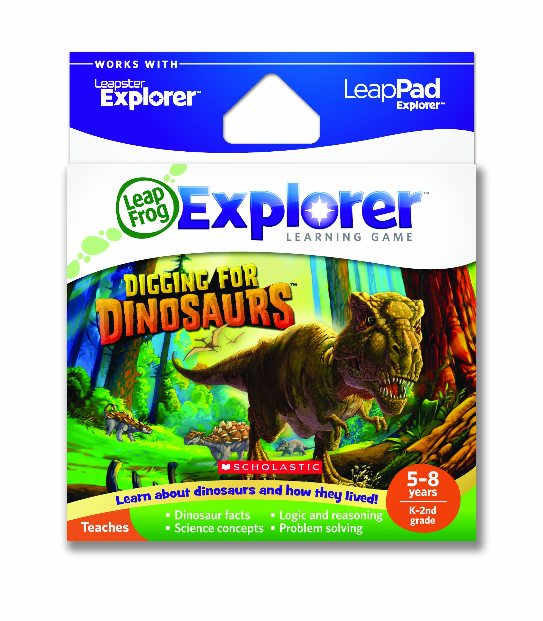LeapFrog Explorer Learning Game: Digging for Dinosaurs (works with LeapPad & Leapster Explorer) by LeapFrog