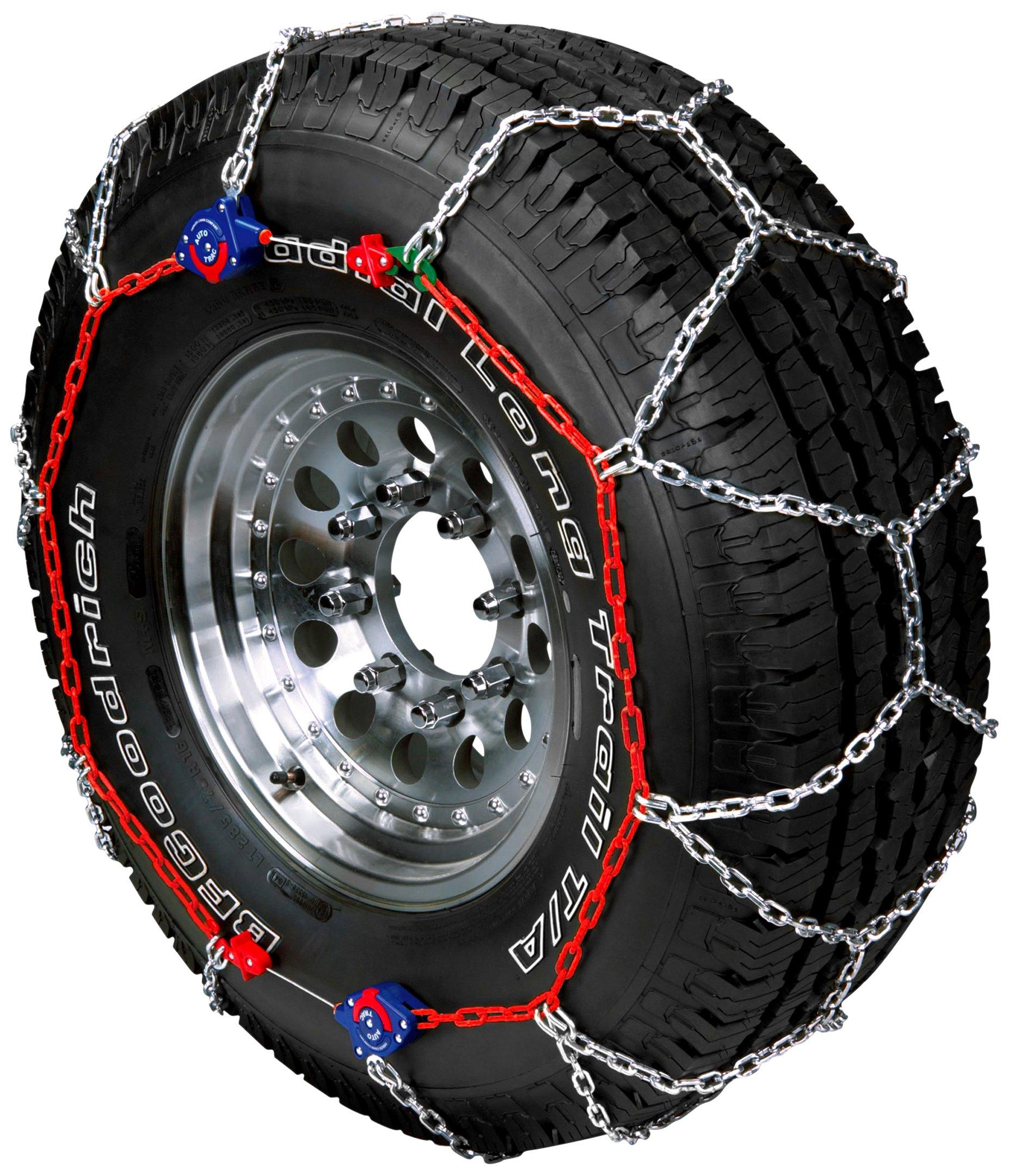 Peerless 0231705 Auto-Trac Light Truck/SUV Tire Traction Chain - Set of 2