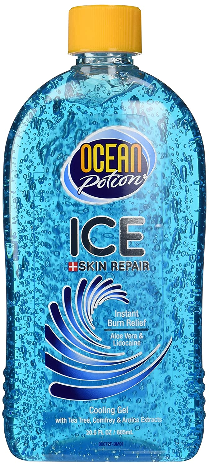 amazon com ocean potion instant burn relief ice 20 5 ounces health