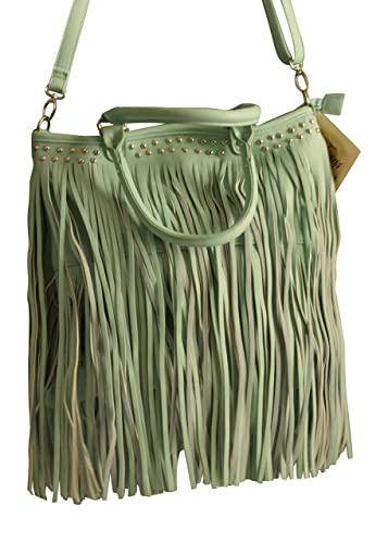 Womens Large Bucket Purse with 2 Layers of
