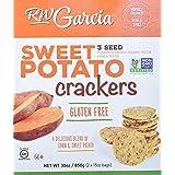 RW Garcia Sweet Potato 3 Seeds Crackers Net Wt 30 Oz (2 x 15oz Bags), 30 Ounces