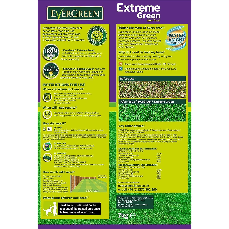 Evergreen 200sqm Extreme Green Value Pack Amazon Garden