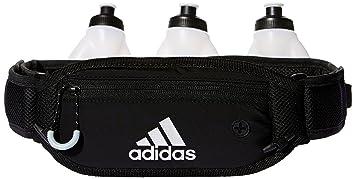 Correa adidas Run Bottle 3 negra 3/ negra gris claro Met,/ plateada Met, talla única fb421d7 - sulfasalazisalaz.website