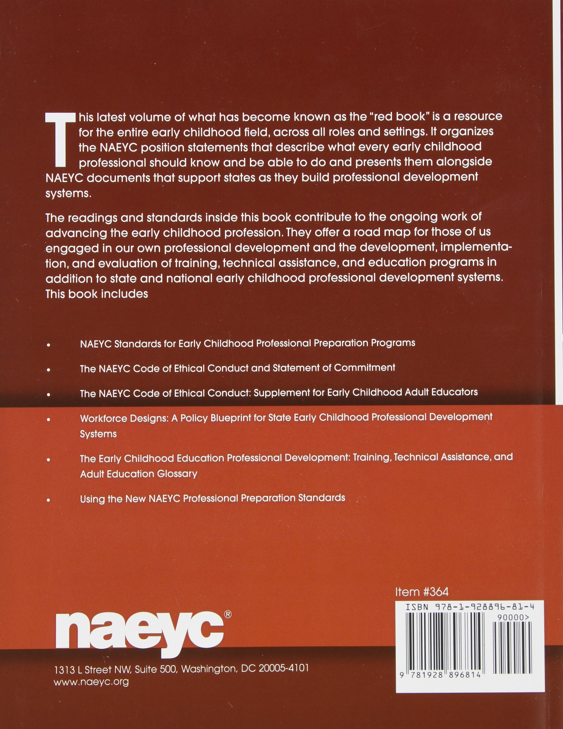 Advancing the early childhood profession naeyc standards and advancing the early childhood profession naeyc standards and guidelines for professional development alison lutton 9781928896814 amazon books malvernweather Gallery