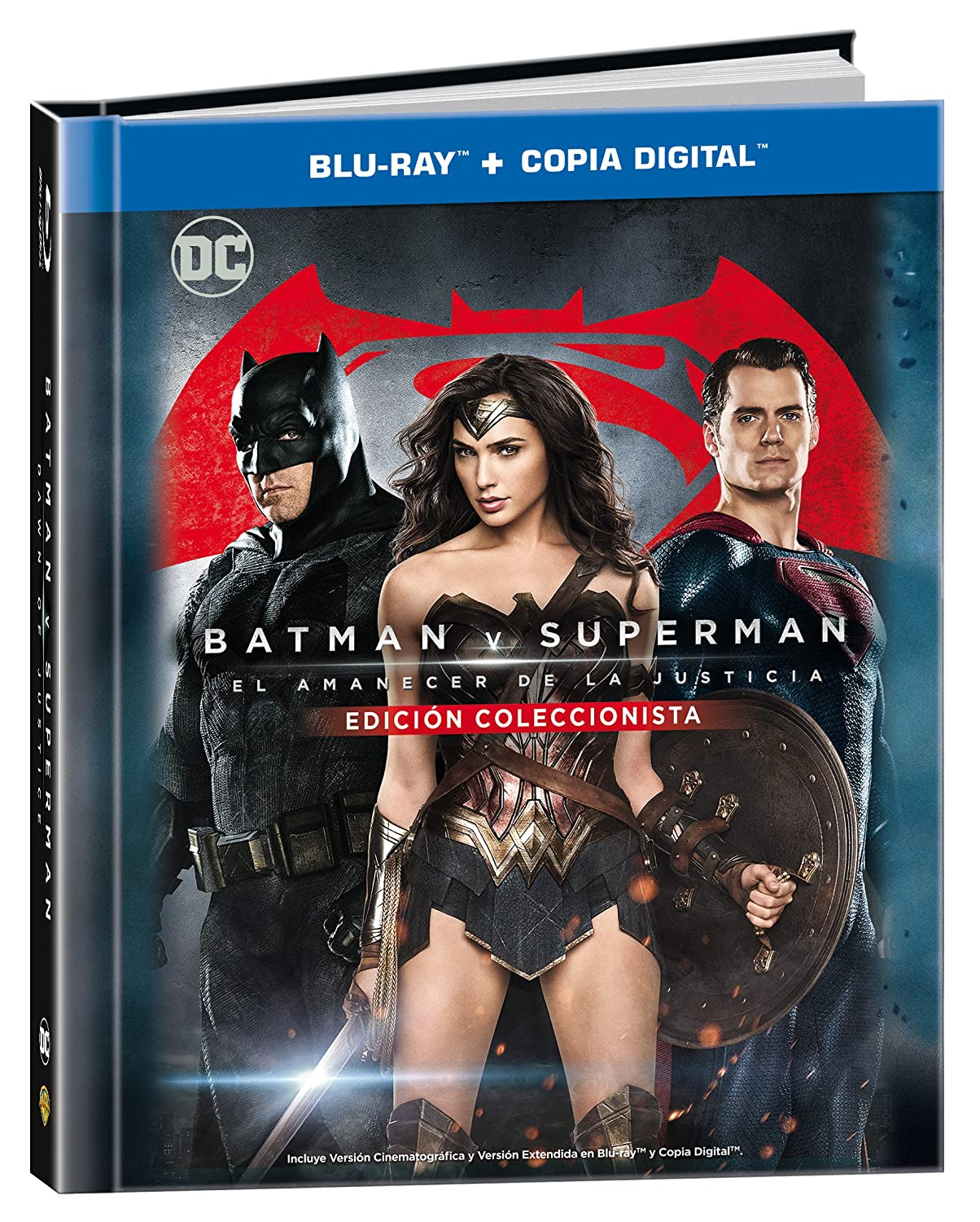Batman V Superman: El Amanecer De La JusticiaBlu-Ray + Copia DigitalDigibook [Blu-ray]