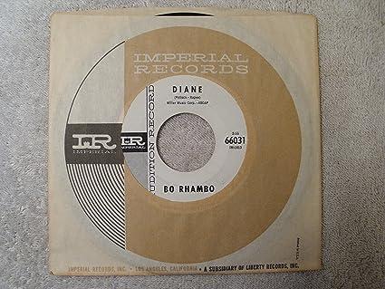BO RHAMBO - blue mist / diane 45 rpm single - Amazon com Music