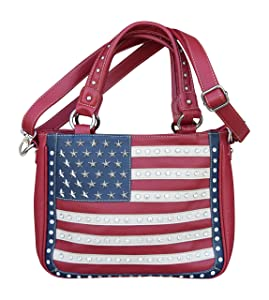 Montana West Womens Concealed Carry Shoulder Purse