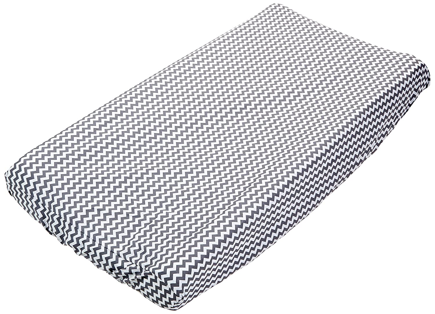 Trend Lab Chevron Changing Pad Cover, Gray 109909