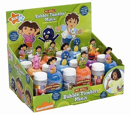 Amazon.com: Little Kids Nick Jr. No-Spill Mini Bubble Tumbler 12 ...