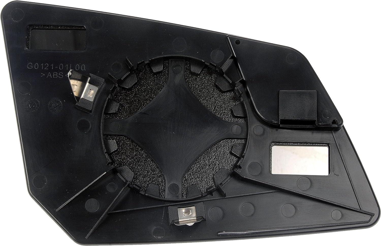 Dorman 56075 Chevrolet//GMC Driver Side Plastic Backed Door Mirror Glass