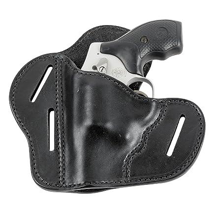 Amazon.com : The Ultimate Leather Gun Holster - 3 Slot Pancake Style ...
