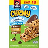 Quaker Chewy Granola Bars, Variety Value Pack, 18 Bars
