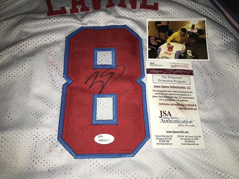 2dd2cb45b Signed Zach LaVine Jersey - Custom WITNESS COA City B - JSA Certified -  Autographed NBA Jerseys at Amazon s Sports Collectibles Store