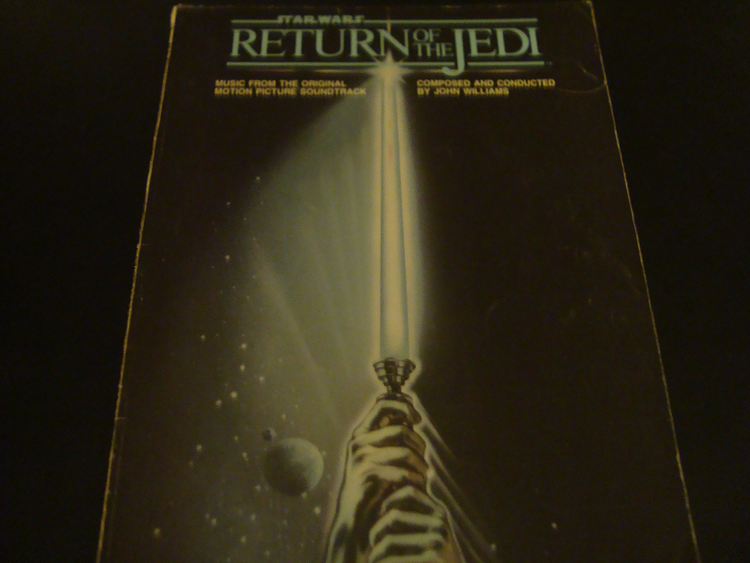 music from star wars return of the jedi piano vocal guitar
