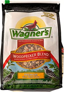 product image for Wagner's 62063 Woodpecker Premium Wild Bird Food Blend, 4-Pound Bag