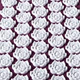 Kanjo - Acupressure Zip-Apart Mat - Acupressure Mat with Built-in Pillow - Travel Mat with Travel Pillow - Neck, Foot & Back Pain Relief - Stress Relief & Relaxation - Includes Travel Bag - Amethyst