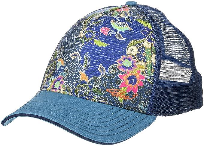 481aef9b Amazon.com: prAna Unisex La Viva Trucker, Blue Anchor Kona, One Size:  Clothing
