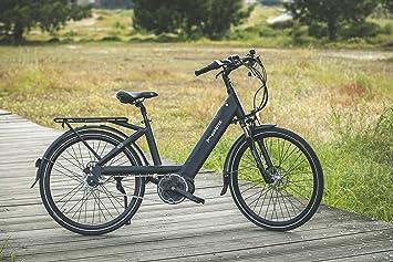 Aurotek Lisbon Bicicleta Eléctrica de Paseo, Adultos Unisex, Negro ...