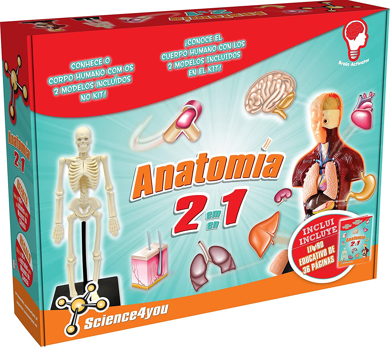 Science4you Anatomía 2 en 1, juguete educativo y científico (602656 ...