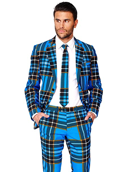 5f801d31173 Opposuits Fun Christmas Suits in Different Prints- Full Set  Jacket ...