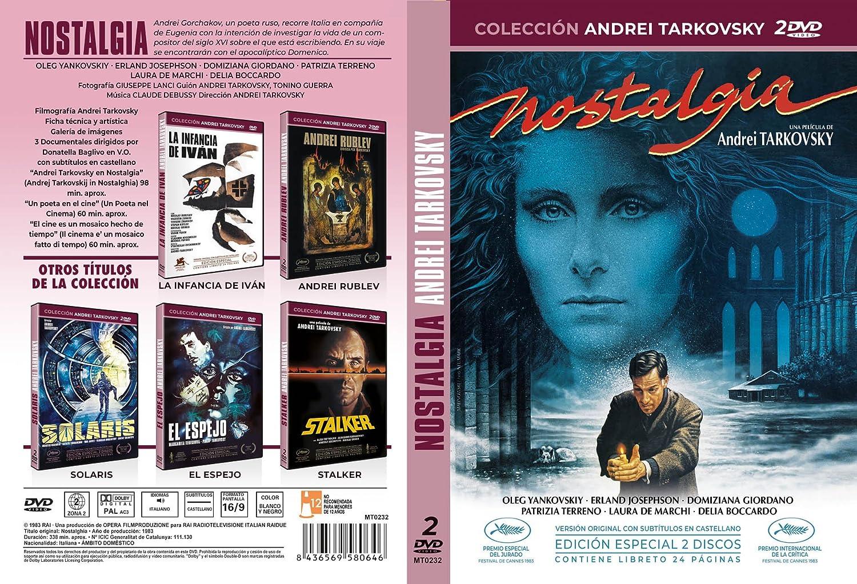 Colección Andrei Tarkovsky - Nostalgia [DVD]: Amazon.es: Domiziana ...