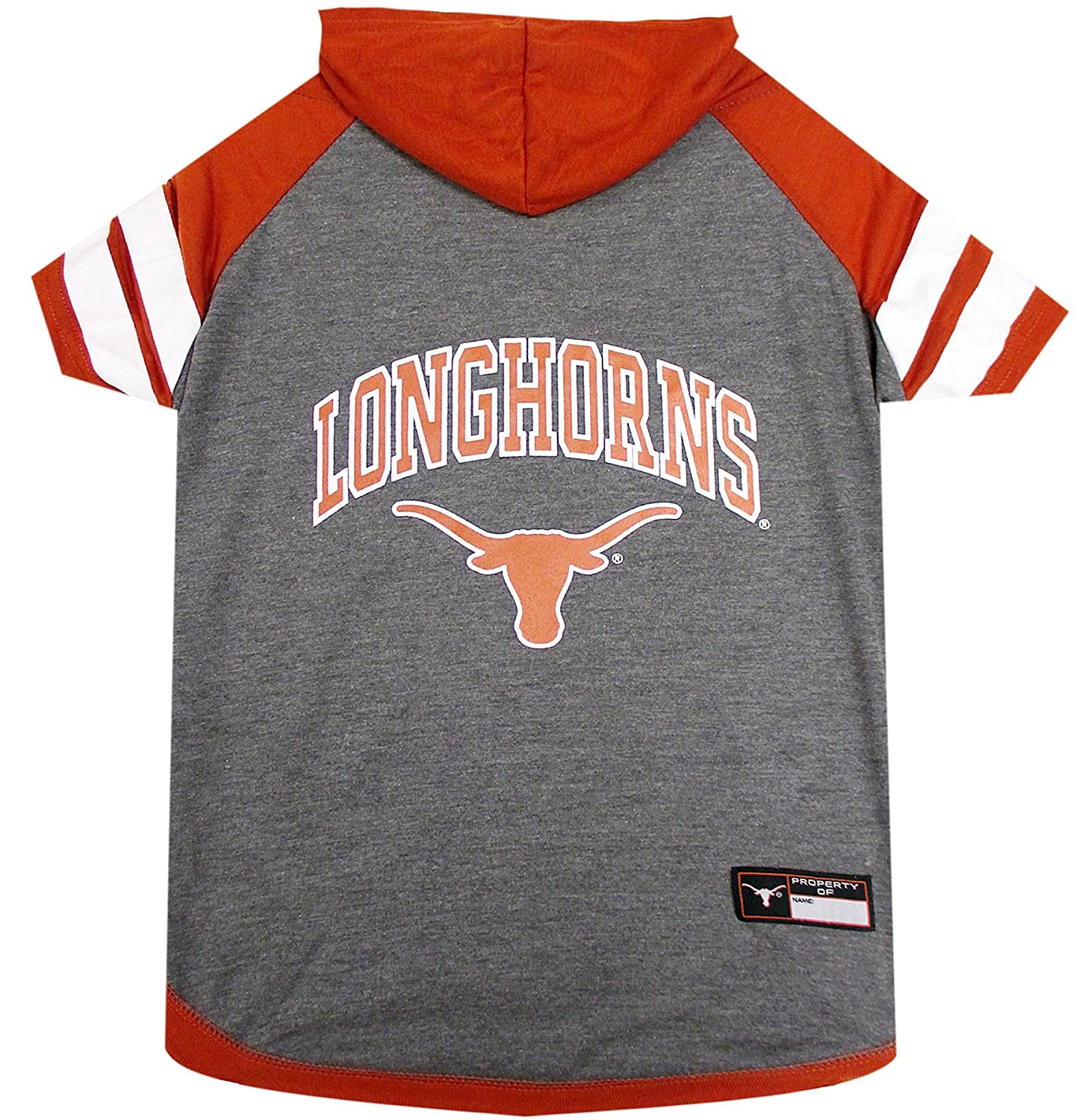 Large Pets First Texas Hoodie T-Shirt, Large