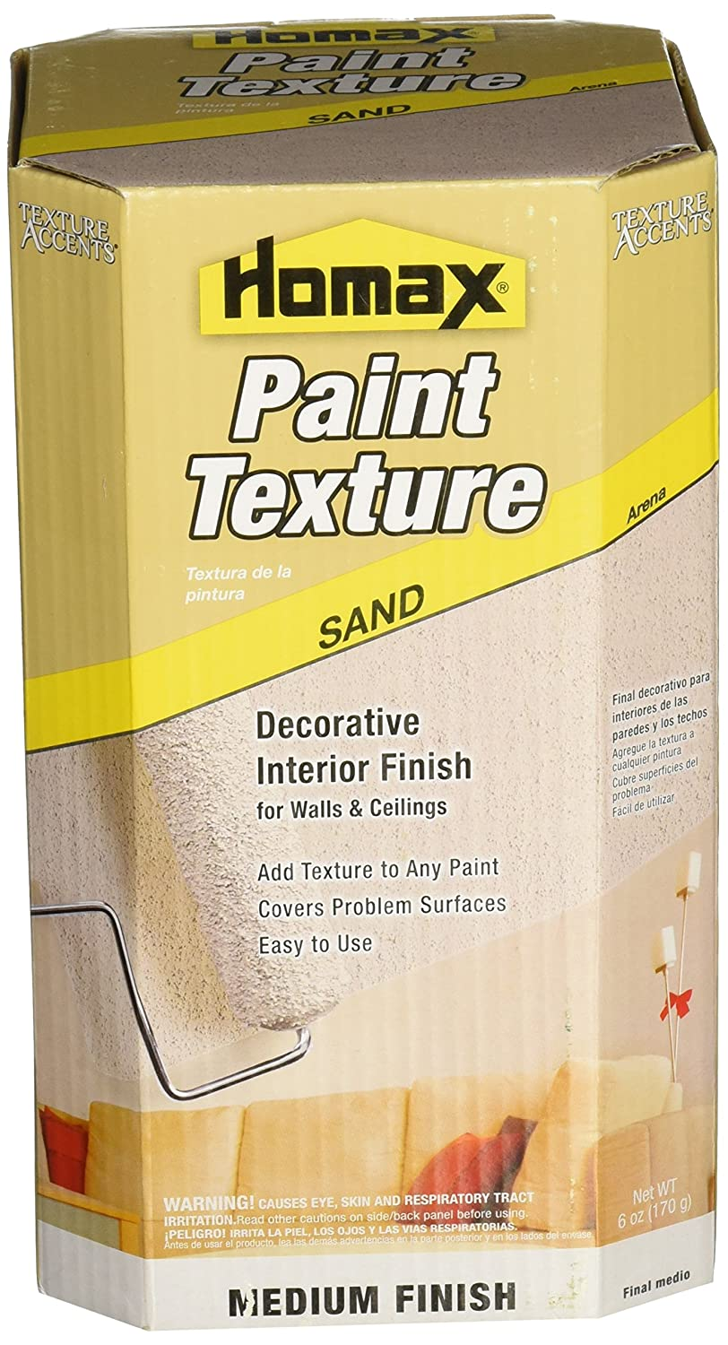 Homax 8474 6 Ounce Texture Additive Sand House Paint Amazoncom