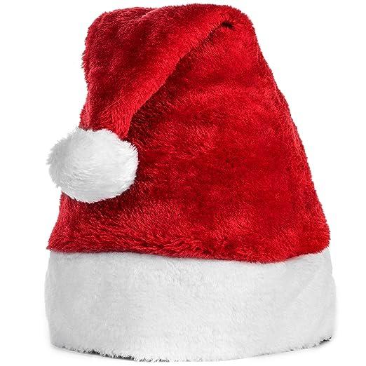453faf3c4 Amazon.com: Nala and Company Official Plush Santa Claus Hat ...