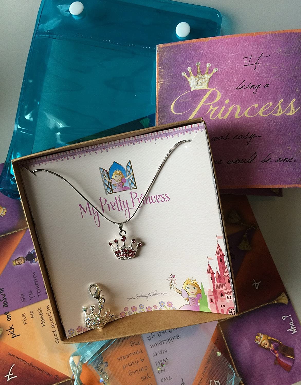 Amazon com : Smiling Wisdom - My Pretty Princess Necklace