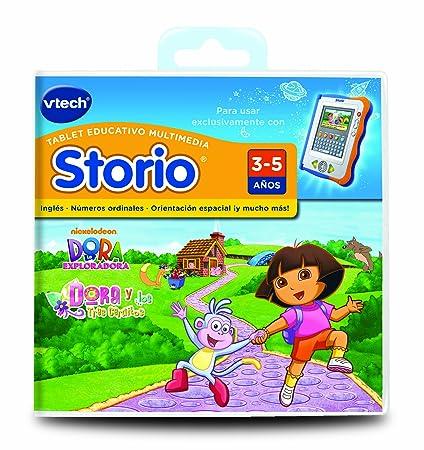 Amazon.com: Vtech español – Vtech Storio Juego Dora – en ...
