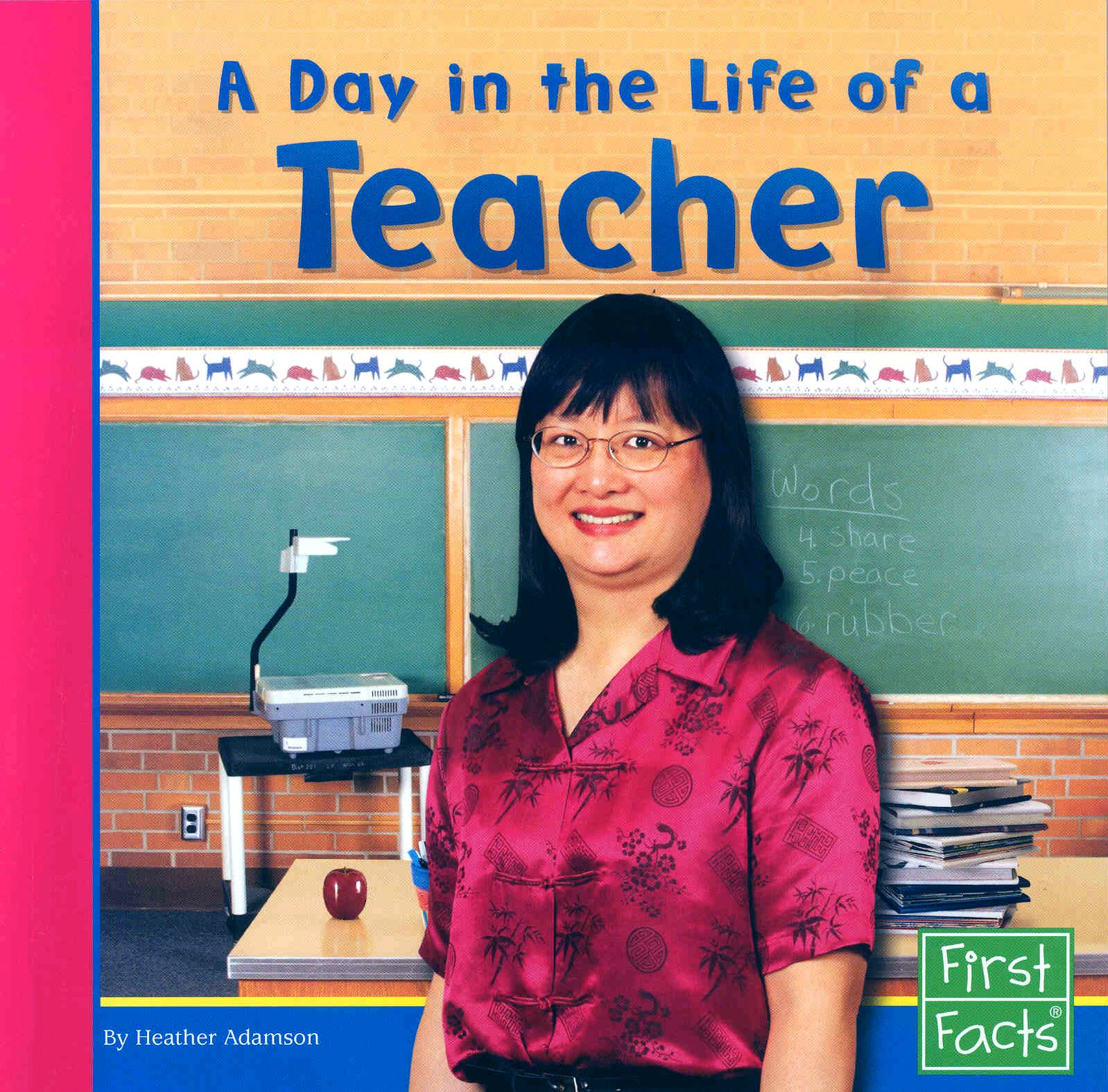 Download A Day in the Life of a Teacher (Community Helpers at Work) ebook